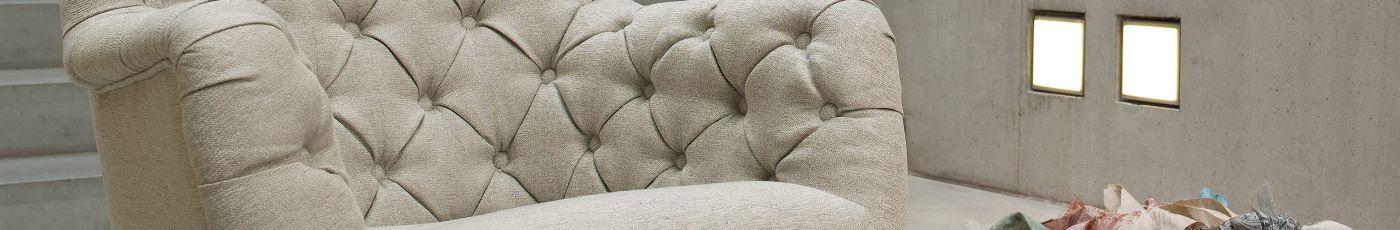 Marac - Sofa und Sessel mit authentischen Leder und den exclusivsten Stoffen